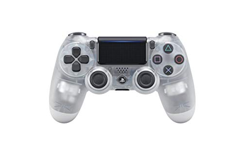 Sony Dualshock 4 V2 Crystal Gamepad Playstation 4 Weiß (transparent)