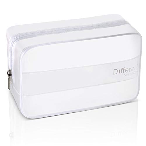 TSA Approved Large Clear Toiletry Bag for Traveling Carry on Airport Airline Compliant Bag Waterproof Cosmetic Bag for Women and Men (1pcs)
