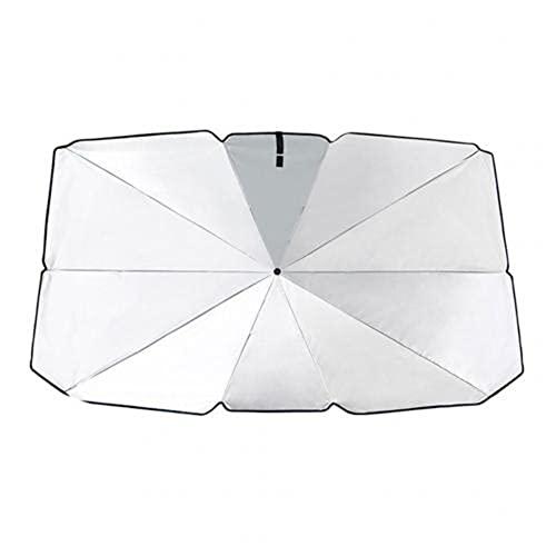 ZDXNNX Perrero Solar de Parabrisas de Paraguas de Paraguas de Paraguas de Paraguas Anti-UV, Cubierta de protección contra UV para Parasol Parasol parasollas,65cm x 125cm