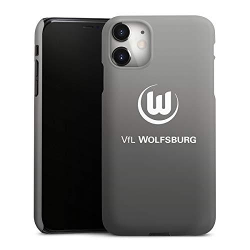 DeinDesign Premium Case kompatibel mit Apple iPhone 11 Smartphone Handyhülle Hülle matt Offizielles Lizenzprodukt VFL Wolfsburg Logo