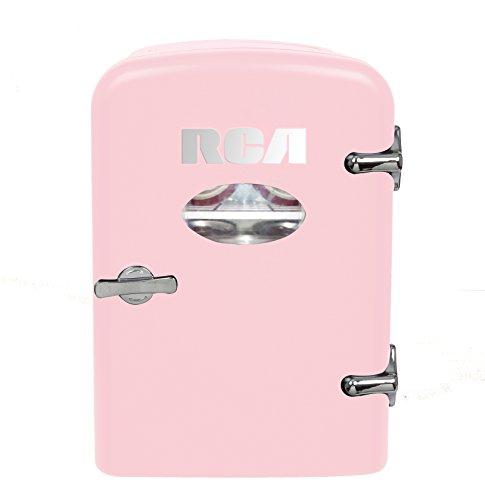 RCA RMIS129-PINK Mini Fridge, Pink