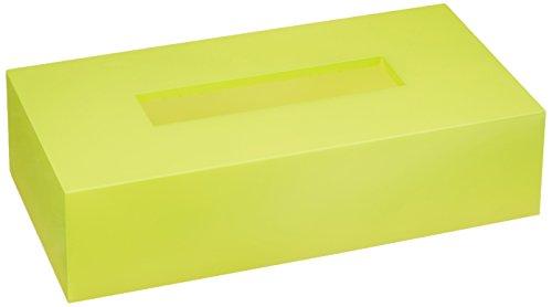 橋本達之助工芸 ティッシュボックス カラー グリーン 1コ入