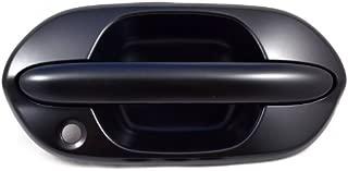 PT Auto Warehouse HO-3613P-FR - Outside Exterior Outer Door Handle, Primed Black - Passenger Side Front