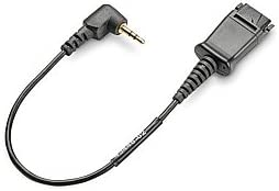 discount Plantronics 2.5mm to Quick discount Disconnect Headset online sale Adapter - Short Cable outlet sale