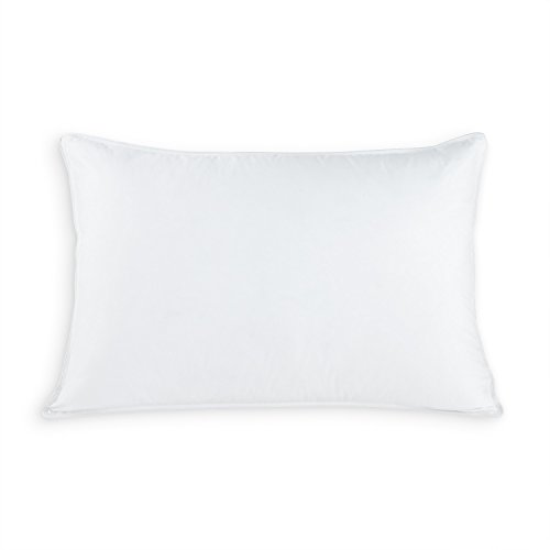 Eddie Bauer Luxury 700 Fill Power White Goose Down Plush Top Pillow - Hypoallergenic Down Pillow - Medium/Firm Density - with 10/90 Down and Feather Inside 700 FP Down - 400 TC (Jumbo 20' x 28')