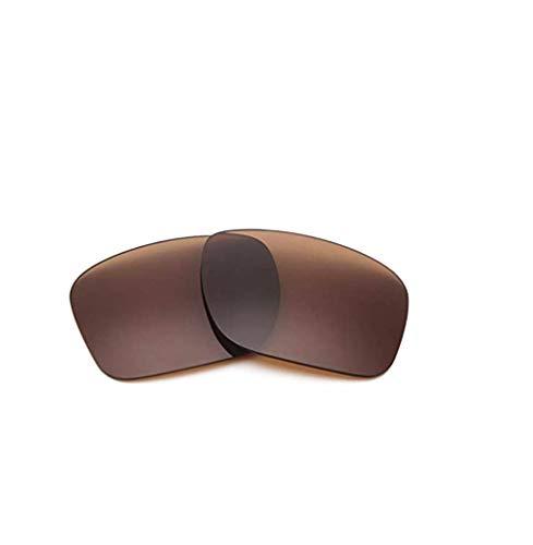 XDXART Polarisierte Ersatzgläser für Oakley OO9102 HOLBROOK (Brown)