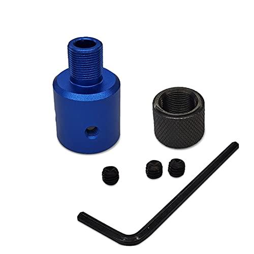 XIAOSHI Tornillo Tipo de Tornillo Largo 1/2-28 o 5/8-24 Filtro de Combustible automotriz Adaptador de Cartucho único para Ruger 10/22 .223 .308 Tornillo m8 (Color : Blue 223 Combo)