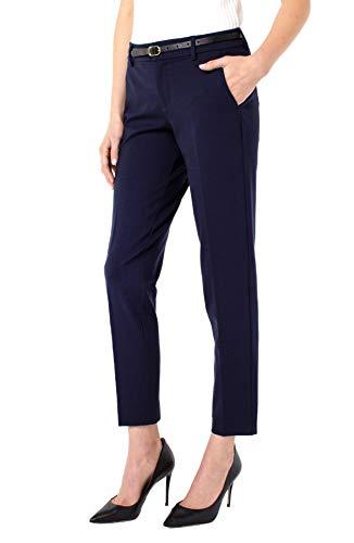 Liverpool Women's Kelsey Knit Trouser 29' Ins - Cadet Blue- 6