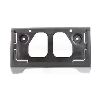 Red Hound Auto Front License Plate Frame Holder Bracket Compatible with 2004-2012 Chevy Colorado GMC Canyon Bumper Mounting with Hardware Included