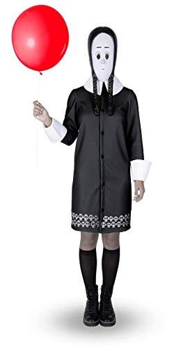 my other me Disfraz de mircoles Addams para Mujer (S)