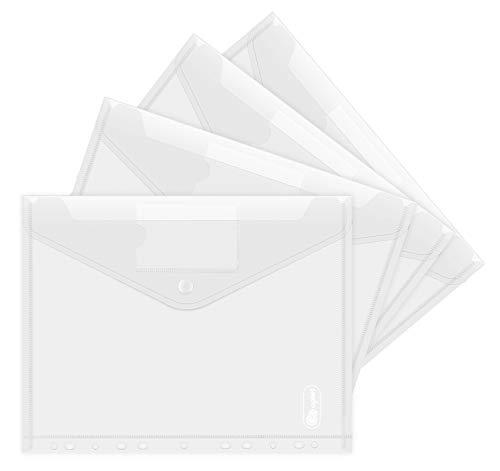 Dokumententasche A4 20 pack- Transparent...