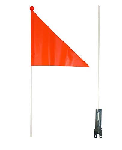 VDP Fahrradwimpel Sicherheitswimpel Fahrrad Fahne Flagge Fähnchen Verdrehschutz orange Wimpel