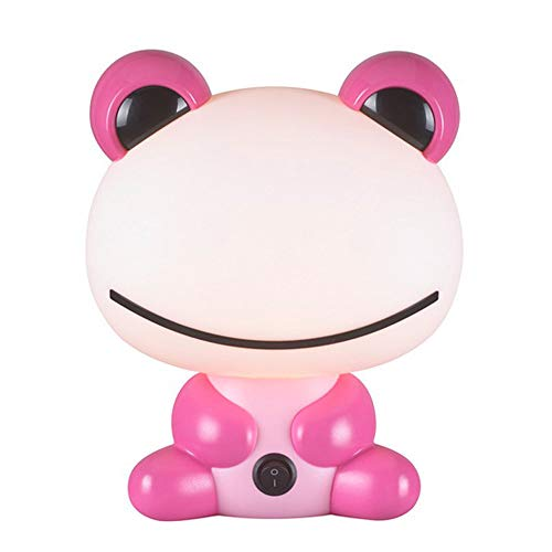 Wonderlamp W-A000116 Lámpara decorativa infantil rana, Color Rosa
