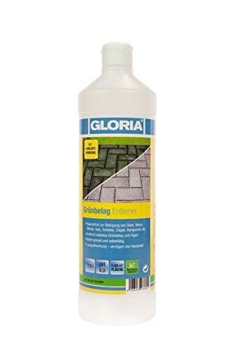 GLORIA Grünbelag Entferner, Reinigungsmittel, Konzentrat,1L