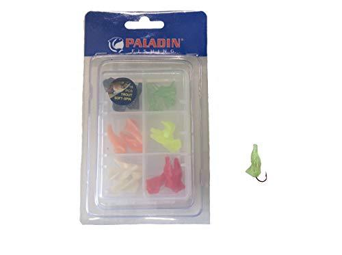 Paladin Trout Soft Spin - Forellenspiral 2,5 cm/0,5 g sortiert
