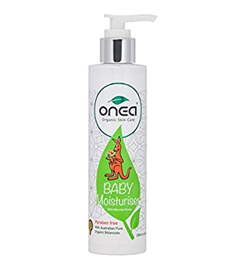 ONEA: All Natural Baby Moisturizer, Hypoallergenic Baby Lotion for Sensitive Skin, Paraben and Non-Toxic with Vitamin E, Kids Eczema Lotion 6.8oz