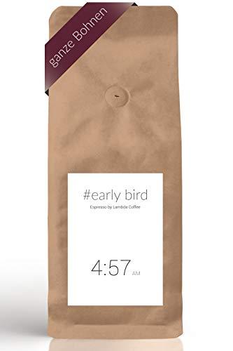 4:57 AM Espresso by Lambda Coffee | Espressobohnen 500g | 80% Arabica 20% Robusta Kaffeebohnen | ganze Bohne