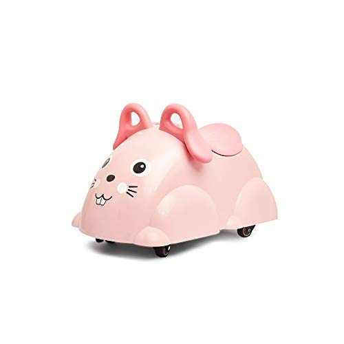 Viking Toys - Cute Rider Ride-On Toddler Toy - Roll, Push, Scoot - with Built-in Storage, for Kids Ages 2 Years and Up, Bunny