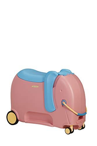 Samsonite Dream Rider Deluxe, Equipaje infantil, 55 cm, 25 L, Rosa (Elephant Pink)