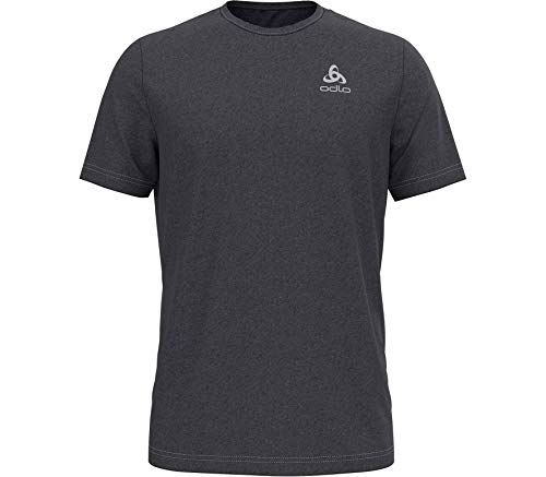 Odlo T-Shirt S/S Crew Neck Millennium Element pour Homme M Noir chiné