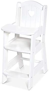 Melissa Doug Wooden High Chair product image