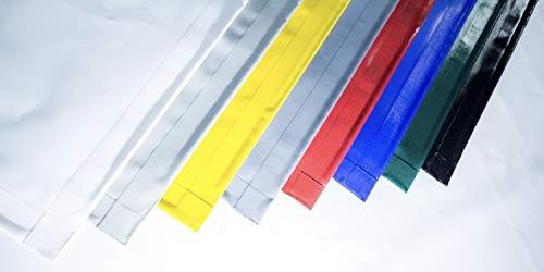 Premium PVC Plane, Abdeckplane, LKW-Plane, Schutzplane,Zeltplane 650 g/m², wetterfest, wetter- und reißfest, inkl. Saum oder Saum mit Ösen (5m x 2,40m inkl. Saum, Grün)