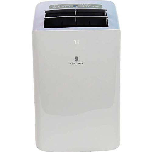 Friedrich ZoneAire Series ZCP12DA Portable 3-in-1 Room Air Conditioner, Dehumidifier, Fan, 12,000 BTU, 115v