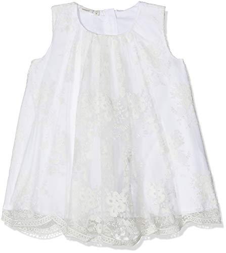 NAME IT Baby-Mädchen NBFSILLE Spencer Kleid, Weiß (Bright White Bright White), 56