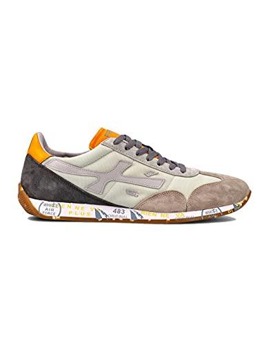 PREMIATA Jackyx 5245 - Zapatillas deportivas para hombre, color gris Gris Size: 40 EU
