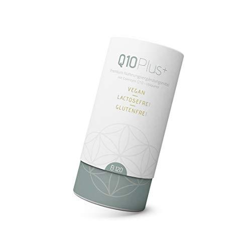 Liebscher & Bracht Premium Nahrungsergänzungsmittel: Q10Plus+ / 120 Kapseln für 2 Monate, aktiviertes Q10 Ubiquinol, vegan, lactose- & glutenfrei