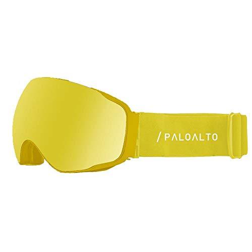Paloalto Shasta Yellow Revo / Spherical / Anti Fog / Anti Scratch
