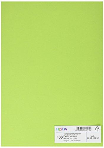 Preisvergleich Produktbild Heyda 204711452 Tonpapier DIN (A4,  130 g qm