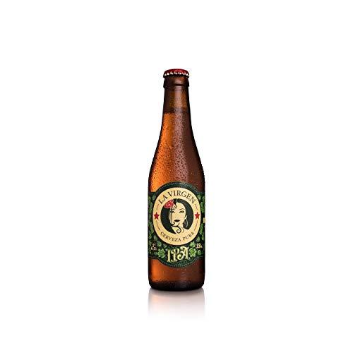 La Virgen Cerveza Artesana IPA - Botella de 330 ml