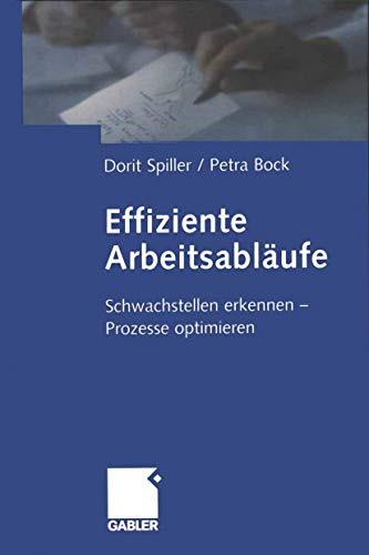 Effiziente Arbeitsabläufe: Schwachstellen erkennen - Prozesse optimieren (German Edition)
