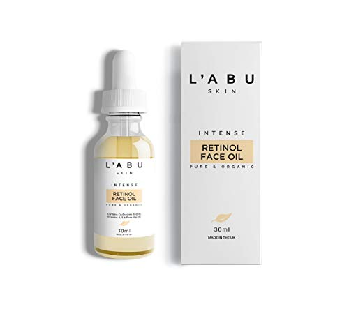 PREMIUM Pure And Organic 0.25% Retinol Oil Face 30ml | Anti Ageing Formula With Rosehip Oil, Vitamin A, CoQ10 | Reduce Wrinkles, Hydrate and Brighten under eye area | Vegan & Cruelty Free
