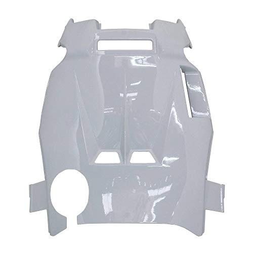 P2R (motorisiert) Radverkleidung Scooter anpassbar MBK 50 Nitro 1997 > 2012 Yamaha 50 Aerox 1997 > 2012 weiß glänzend -P2R