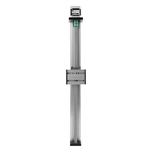 YBB-YB YankimX - Tornillo de bola deslizante con motor paso a paso de 400 mm, rango efectivo de tornillo de bola automático lineal CNC Slide Stroke Guía de actuador de etapa larga de aluminio