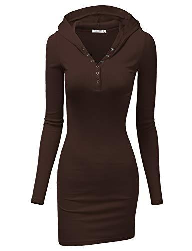 Joeoy Women's Casual Stripe Sleeveless T-shirt Hoodie Dress Black Large