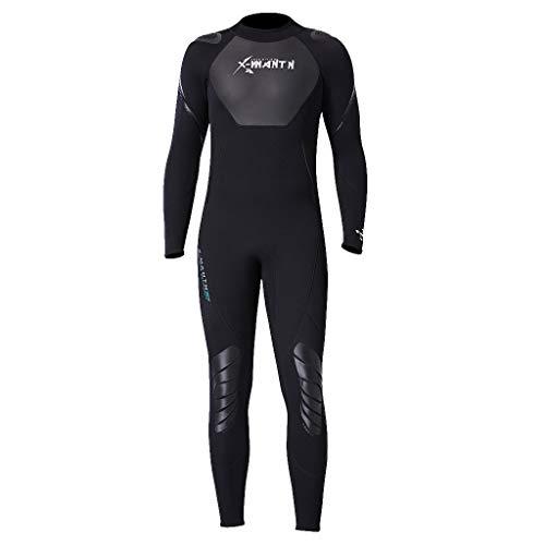 Storerine Dünner Neoprenanzug für Herren und Damen, Dehnbar Stoff Ganzkörper Lang Ärmel UV-geschützt Badeanzug Badebekleidung Wassersport Anzug für Schnorcheln Tauchen Schwimmen Surfen