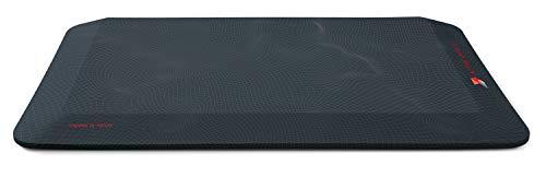 Aeris Muvmat 2-Zonen Anti Ermüdungsmatte – Ergonomische Stehmatte mit hochwertigem Integralschaum – 91,5 x 48 x 3 cm Arbeitsmatte Bezug Topographie