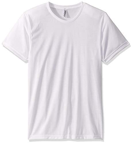 Marky G Apparel – Camiseta de Manga Corta para Hombre, Blanco, XX-Large