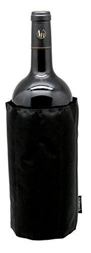 Vin Bouquet Funda enfriadora, Nailon, Bourdeos/Negro, 43 cm ancho. Exclusivo botellas Magnum