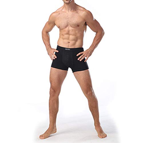 DEWUFAFA 11th Generation 2017 Men's pennis Enlargement Underwears Magnetic Micromodal Trunks Therapy Boxer Briefs (Color : 3 Black, Size : 3X-Large)