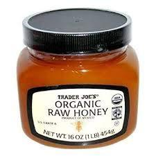 Trader Joe's Organic Fair Trade RAW Honey 16 oz (Pack of 2)