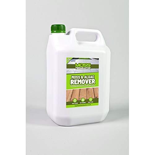 Moss Terminator: Moss & Algae Remover - 5 litre Moss Killer and Preventor