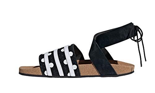 adidas Originals Damen Sandalen Adilette Ankle Wrap schwarz (200) 38