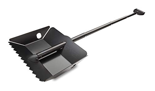 DMOS Alpha Expedition Shovel  Strong Stowable HighPerformance Perfect for Car/Truck Snow Survival Camping OffRoad Emergency and Other Outdoor Activities