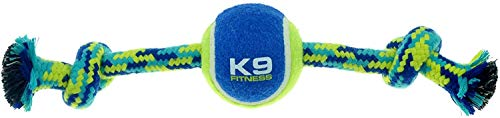 ZEUS K9 Fitness Dog Toys by ZEUS Knotted Rope Bone, 12', Dog Rope Toy for Chewers (Color May Vary)