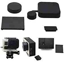 ProGear Camera Lens Cap, Housing Cap, Dust Cover, And Battery Back Door For GoPro HERO3