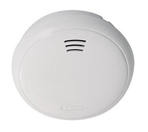 ABUS 251365 GRWM30500 Surveillance Alarm Smoke Detector, 3 V, weiß